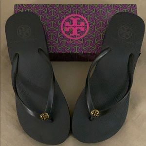 Tory Burch Wedge Flip Flop Size 8